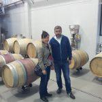 """北西ガリシア地方 白ぶどうの女王 アルバリーニョワインのアティス社の醸造責任者 ロブスティノさん。清澄に魚の浮き袋 アイシングを使うのが伝統スタイルだと伝授される。さすが""""海のワイン""""というだけあって塩味を感じるし和食にも最高にあう。"""
